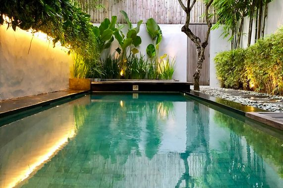 Budget 3 bedroom pool villa at Seminyak