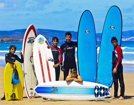 Sport holiday package through surf camp trip for small group