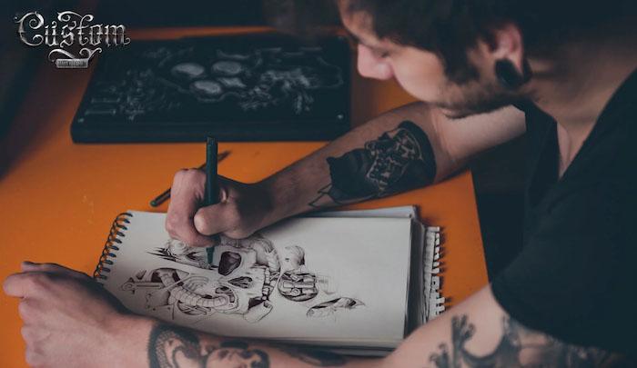 tattoo drawing fee
