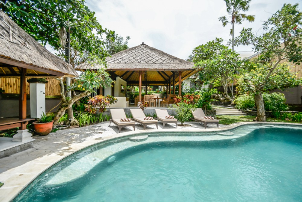 Canggu villas with a private pool