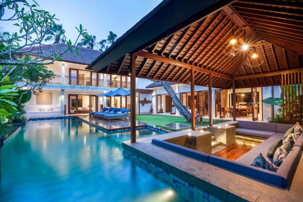 find a luxury one through villa agency in bali
