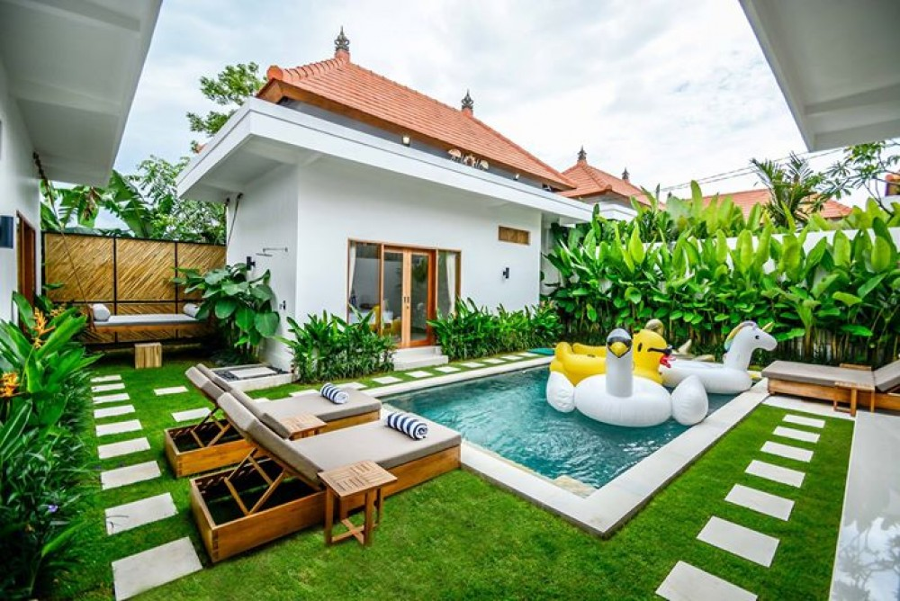 Villa Seminyak with private pool and friendly for kids