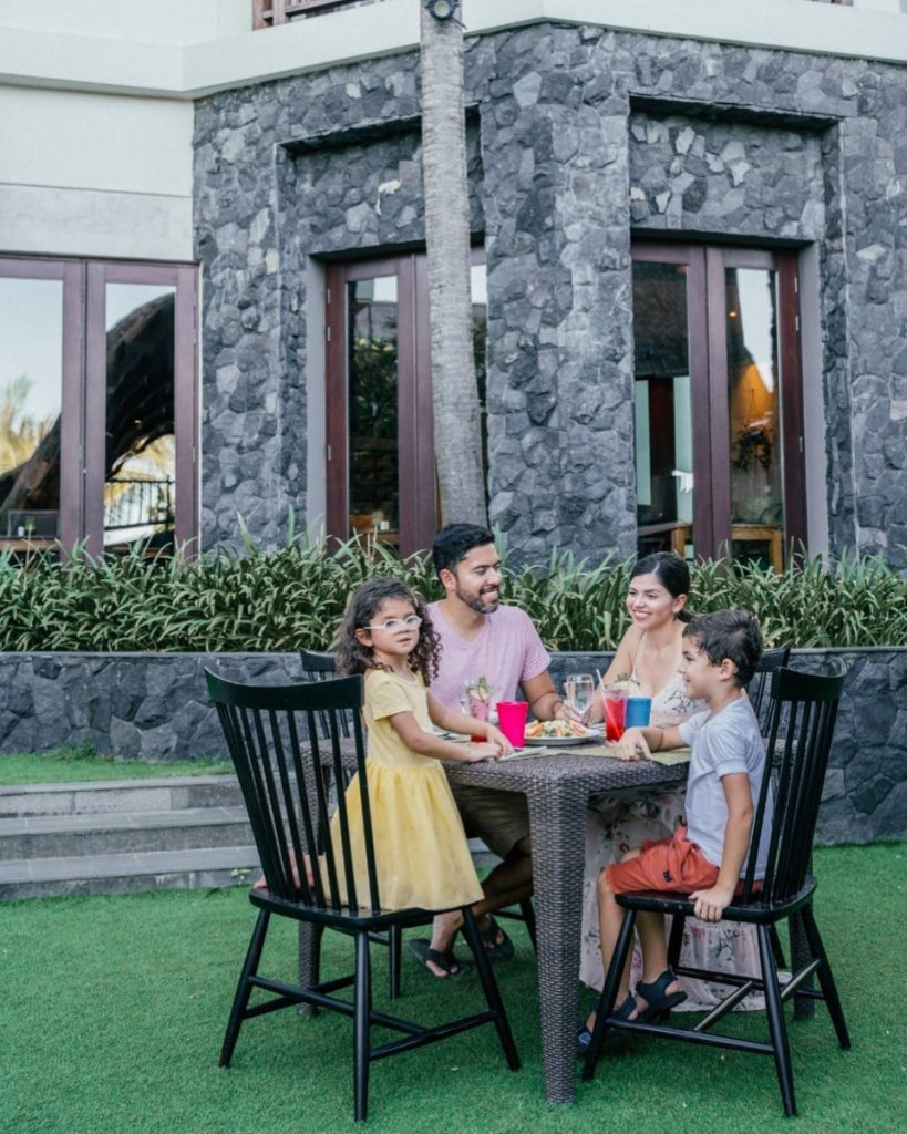 The Free Kids Meal at Bali Family Resort is A Huge Bonus